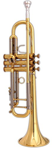 Blessing BTRML1 Artist Series Professional Trumpet, Lacquered Brass