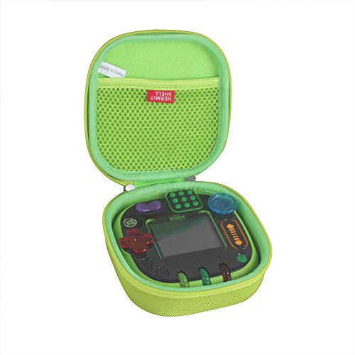 Hermitshell Hard EVA Travel Case for Leapfrog Rockit Twist Handheld Learning Game System (Green)