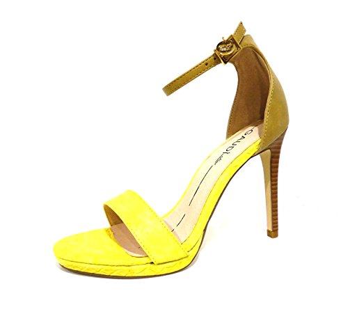 Gaudì  V63-64582 YELLOW, Chaussures à brides femme