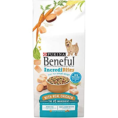 Purina Beneful Small Breed Dry Dog Food, 3.5 lb