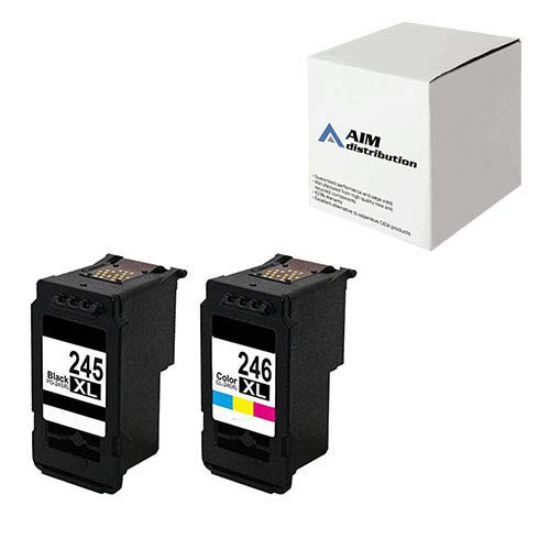 AIM Compatible Replacement for Canon PG-245/CL-246 High Yiel