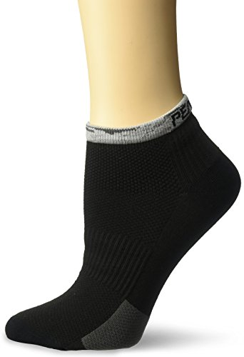 Pearl iZUMi Women's Elite Low Socks, Smoked Pearl Vista, Medium