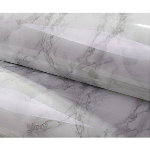 Grey Granite Look Marble Effect Contact Paper Film Vinyl