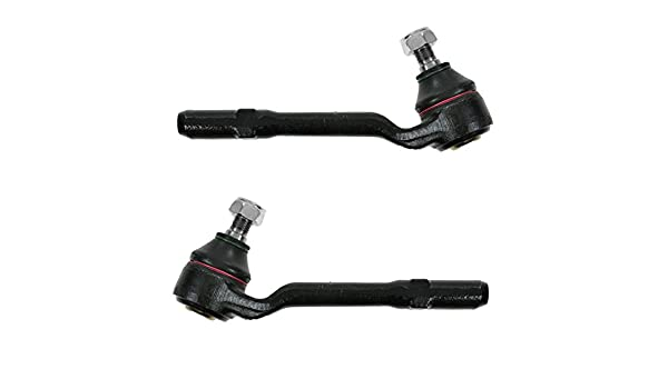 Front Outer Tie Rod End LF /& RF LH /& RH Left Right Pair Set for 03-06 BMW X5