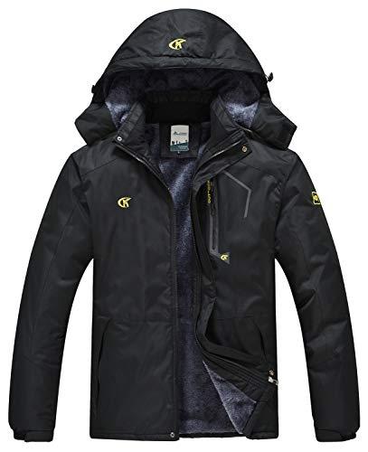QPNGRP Mens Waterproof Fleece