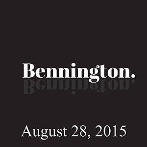 Bennington, Jan Gaye, August 28, 2015 Radio/TV Program