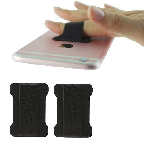 WUOJI – Finger Strap Phone Holder – Ultra Thin Anti-Slip Universal Cell Phone Grips Band Holder for Back of Phone…