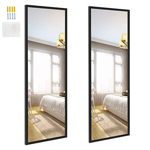 EdenseeLake 2 Packs 14x48 Inch Wall Mirrors Full