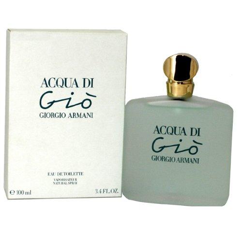 Acqua Di Gio Perfume by Giorgio Armani for Women. Eau De Toilette Spray 3.4 oz/100 Ml ()