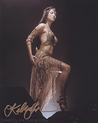 B073YB699W KELLY HU as The Sorceress - The Scorpion King GENUINE AUTOGRAPH 413hlqKzWbL