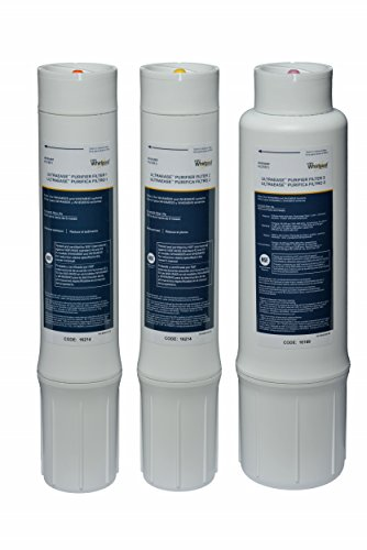 Whirlpool WHEMBF Water Purifier Replacement Filters (Fits Systems WHAMBS5 & WHEMB40) by Whirlpool