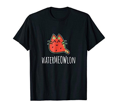 (Watermeowlon Shirt - Funny Watermelon Cat T-Shirt)