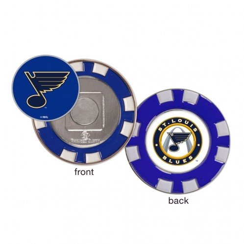 Louis Coin St (St. Louis Blues Poker Chip Golf Ball Marker)