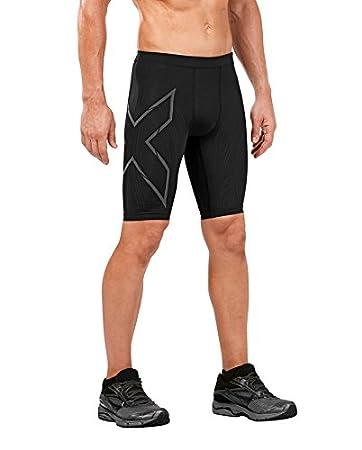 2XU Mens MCS Run Compression Shorts 2XU Pty Ltd MA4413b-P