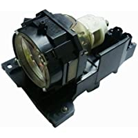 Electrified CPX605LAMP Replacement Lamp with Housing for Hitachi Projectors