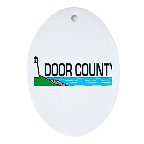 CafePress Door County Oval Ornament Oval Holiday Christmas Ornament