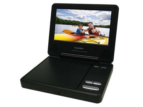 Axion LMD-6708Y 7-Inch Widescreen Portable DVD Player