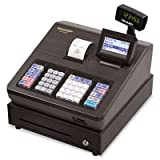"Professional class POS register has high-speed thermal printing on standard drop-in 2-1/4"" thermal rolls. Eight-line operator display helps reduce operator errors. Features advanced sales reporting capabilities and seamless tie-in to QuickBooks® Pro...."