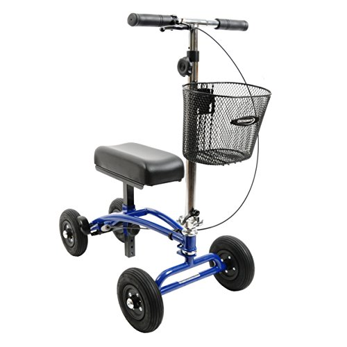 All Terrain Orthomate Knee Scooter with Basket and 8