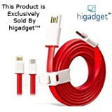 Higadget™ USB Type C Cable Type C competible for OnePlus Two One Plus Two OnePlus 2 oneplus 3 Nexus 5X Nexus 6P New Macbook 12 inch ChromeBook Pixel Nokia N1 Tablet Asus Zen AiO Letv 1S letv 2 and Other Devices with Type C USB all usb type c devices- A+ Quality