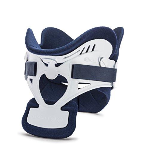 Ossur Miami J Cervical Neck Collar - C-Spine Vertebrae Immobilizer Semi-Rigid Antibacterial Pads for Patient Comfort - Relieves Pain & Pressure in Spine (MJ-400 Regular)