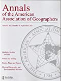 img - for Annals of the American Association of Geographers, Vol 107, Number 5 book / textbook / text book