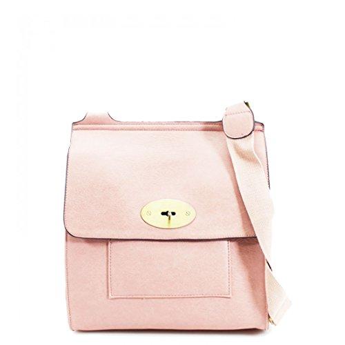 Women Handbag Shoulder Small Bag Cross Messenger Satchel Tote Pink Body Ladies BZqXzq