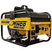 Winco W6010DE Industrial Portable Generator, 6,000W Maximum, 326 lb.