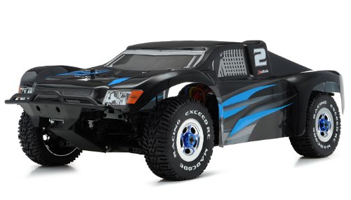 Code Short Course Racing Edition Almost Ready to Run ARTR Rally Truck Car w/ Brushless/ESC (Blue) ()