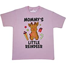 Inktastic - Mommys Little Reindeer Youth T-Shirt