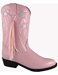 Smoky Mountain Girls' Stars And Fringe Cowgirl Boot