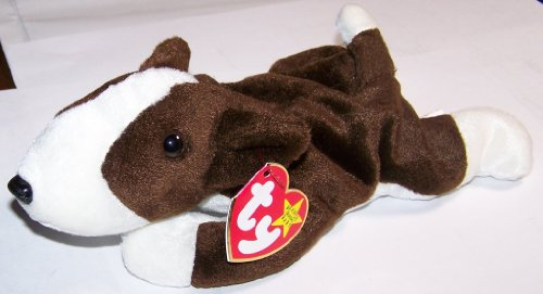 Bruno the Bull Terrier Dog - MWMT Ty Beanie Babies (Bull Terrier Plush)