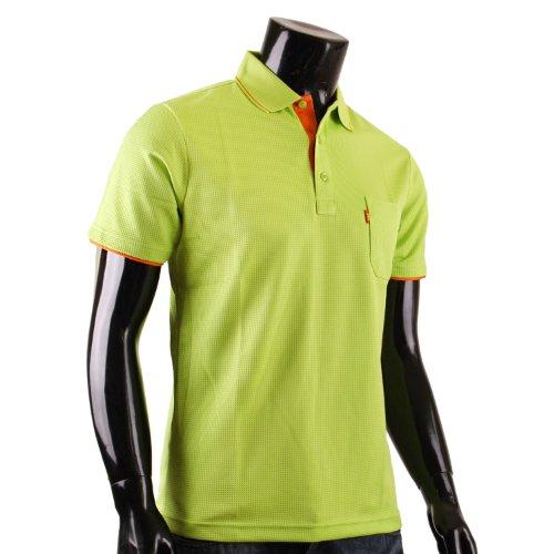 BCPOLO Herren Polo Shirt DRI FIT Polo Hemd Kurzarm. Hellgrun