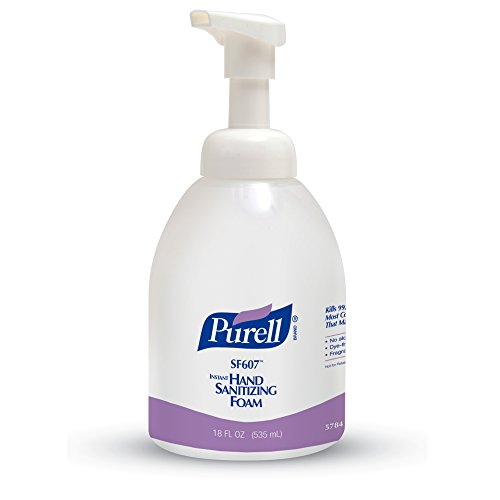 Purell Alcohol Free Sanitizer Bottle milliliters