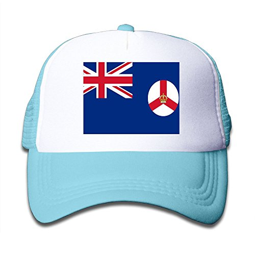 Futong Huaxia Flag Of Singapore Boy & Girl Grid Baseball Caps Adjustable sunshade Hat For Children on sale