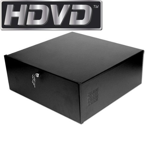 HDVD™ DVR Lock-Box, 24 x 21 x 8 inch, Fan, Heavy Duty 16 Gauge, BEST QUALITY by HDVD