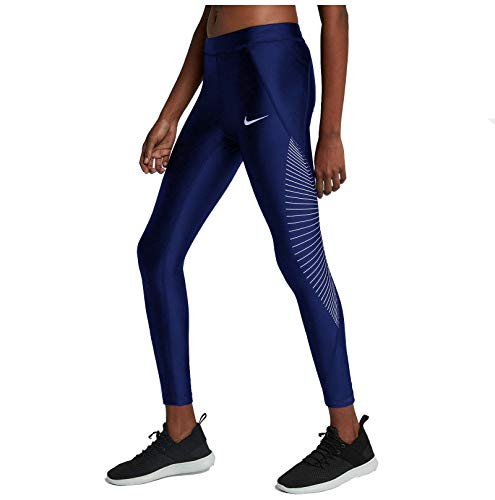 9cad803a4a5c39 Nike Women's Power Speed 7/8 Running Tights (Obsidian, S)