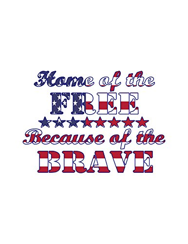 Free Christmas Decals (Home of the FREE and the Brave)
