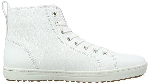 Birkenstock Bartlett Herren, Zapatillas Altas para Hombre Weiß (White)