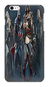 fashionable cool 2014 New Style Popular Assassin's Creed designed Hard TPU cellPhone Cover Case for iphone 6