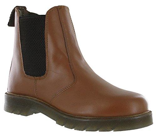 Air Sole Grafters Boots Tan Dealer Chelsea Leather zwxvqp