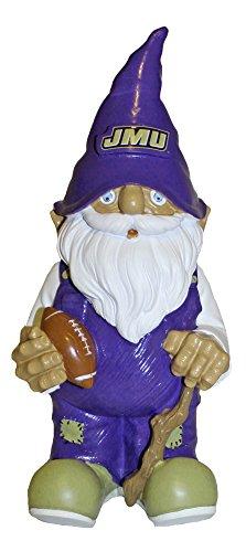 (Forever Collectibles James Madison JMU Dukes Garden Gnome, 11 inches Tall )