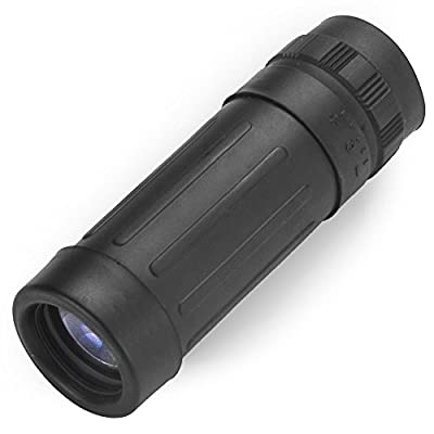 Compact Pocket 8x21 Monocular with Protective Case by Grizzly Peak from Grizzly Peak