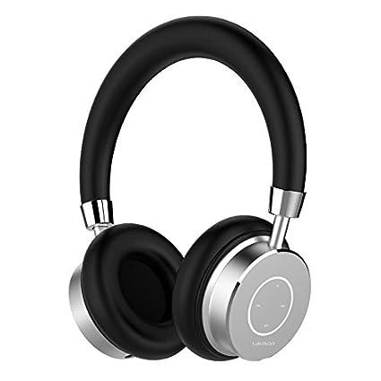 Lauson - Auriculares Bluetooth Inalámbricos con micrófono, Manos libres y control de volumen, Acolchados