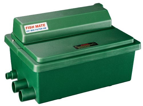 Fish Mate 500GUV Gravity UV+Bio Pond Filter ()