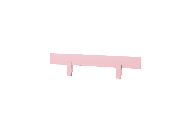 Wood Hoppekids Rail for Toddler//Childrens//Infant//Junior Bed Light Pink Rose 100x5.2x22.5 cm