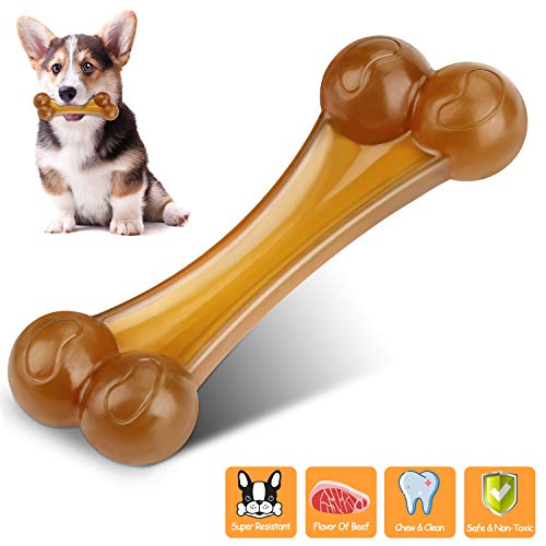 Durable Dog Chew Toys Bone for Aggressive Chewer Dogs Indestructible Tough Puppy Small Medium Large Chew Toys Gift