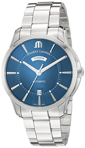 Maurice-Lacroix-Mens-Pontos-Swiss-Automatic-Stainless-Steel-Casual-Watch-ColorSilver-Toned-Model-PT6358-SS002-430-1