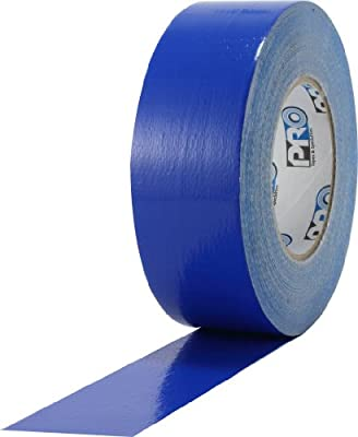 """ProTapes Pro Duct 110 PE-Coated Cloth General Purpose Duct Tape, 60 yds Length x 2"""" Width, Blue (Pack of 1)"""