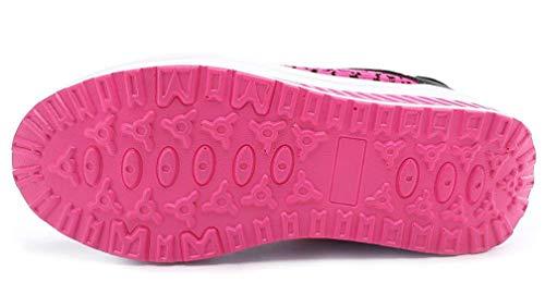 Traspiranti Running Sneakers Zeppa Basse Sportive Donna Stringate Super Amitafo Scarpe Rosa Leggere Fitness qf8wgn1q